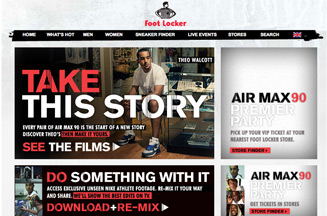 Foot Locker promotes Nike Air Max with campaign