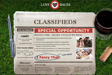Love the Races: online horse racing campaign