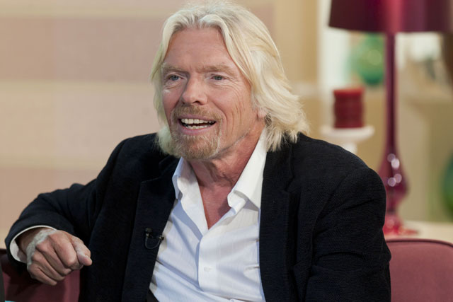 Richard Branson: wants agency to handle advertising for water venture
