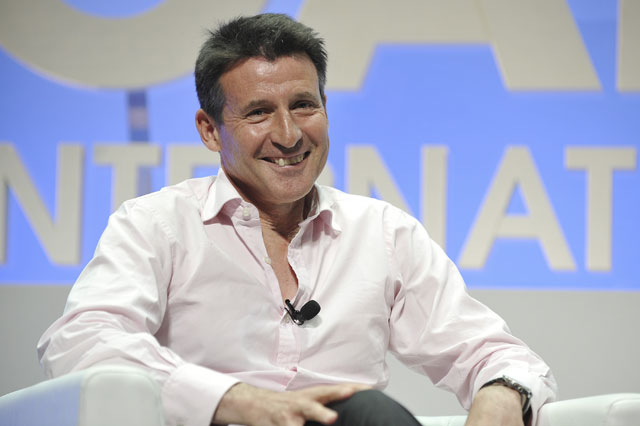 "Lord Coe credits sponsors for ""profound"" London Olympics"