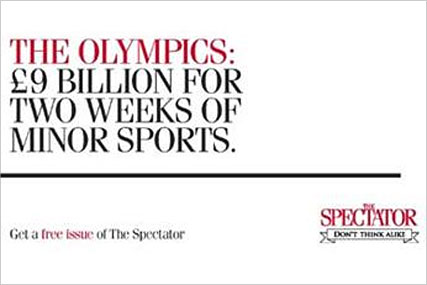 The Spectator: new campaign by Ogilvy & Mather