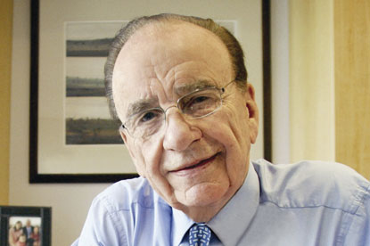 Murdoch... will charge for online content