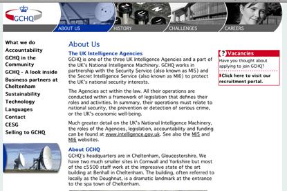 GCHQ…EHS will create B2B campaigns