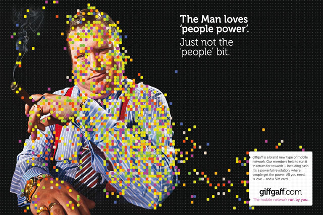 Recent Albion work: Giffgaff