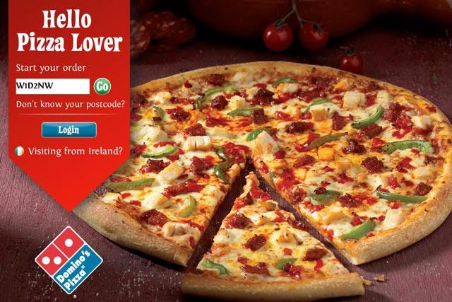 Domino's Pizza: launches pizza-ordering iPad app