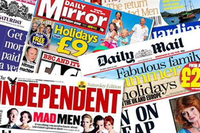 Newspapers: ZenithOptimedia cuts adspend forecast after sector's poor showing