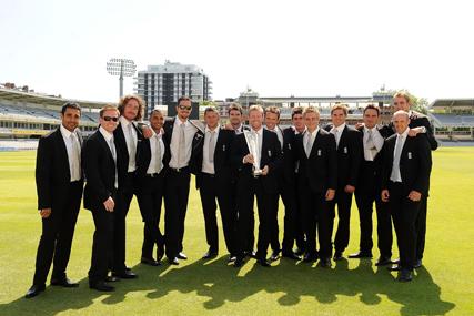 England Cricket team: Jaguar sponsorship