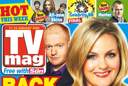 TV Mag: The Sun announces plan to replace with glossy title