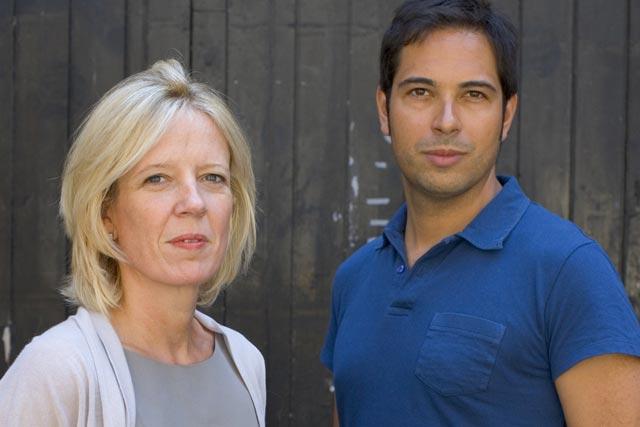 Chief executives: Lisa Thomas of M&C Saatchi UK and Christian Gladwell of Human Digital