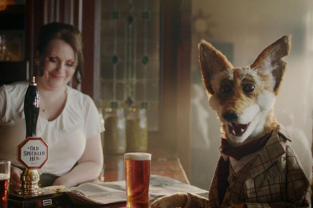Old Speckled Hen: Dare was appointed to its ad account in March 2009