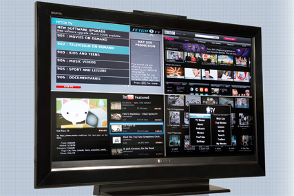 Internet-enabled TVs mark the start of a 'fundamental change' in the availability of content