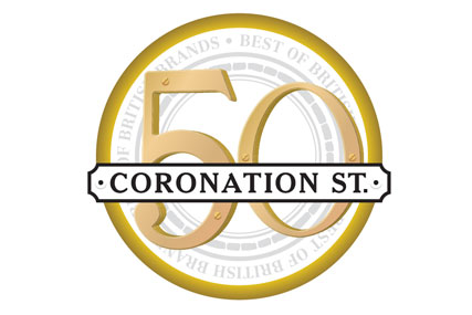 Coronation Street: 50th anniversary logo by BD Network