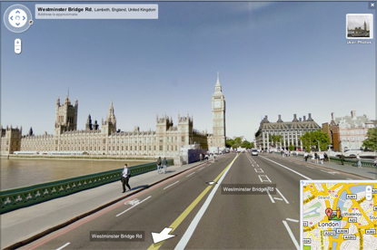 Google Street View...coming to the UK