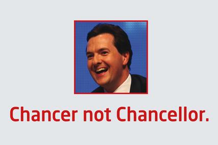 Labour: targets George Osborne