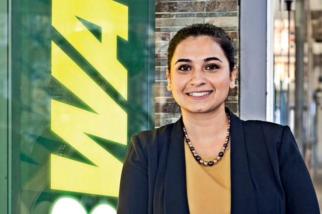 Subway UK head of marketing Manaaz Akhtar
