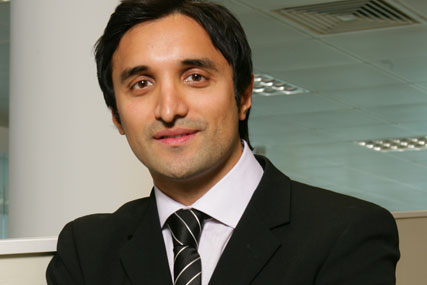 Ahamed Ajaz: founder of AKQA (picture: Colin Stout)