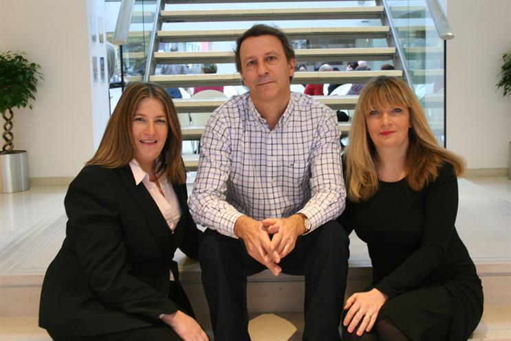 Victoria Fox, Matthew Heath and Nicky Bullard: new management team