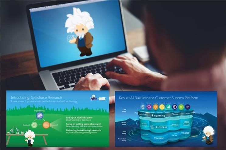 Salesforce launches CRM AI platform Einstein globally