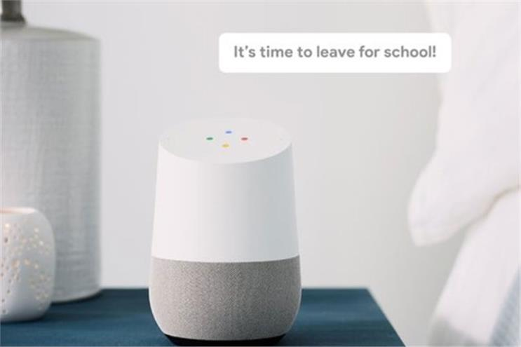 Google hardware adds broadcast of voice commands