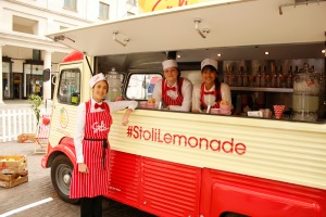 The branded van will tour a number of London locations
