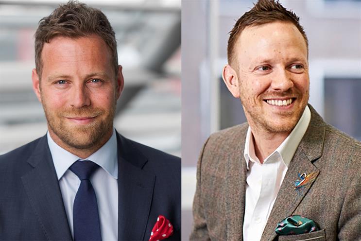 Oath: Stuart Flint (left) and Nigel Clarkson