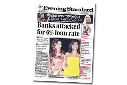 Evening Standard: drop in circulation despite extra bulks