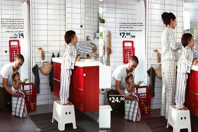 Ikea Apologises For Deleting Women From Saudi Catalogue