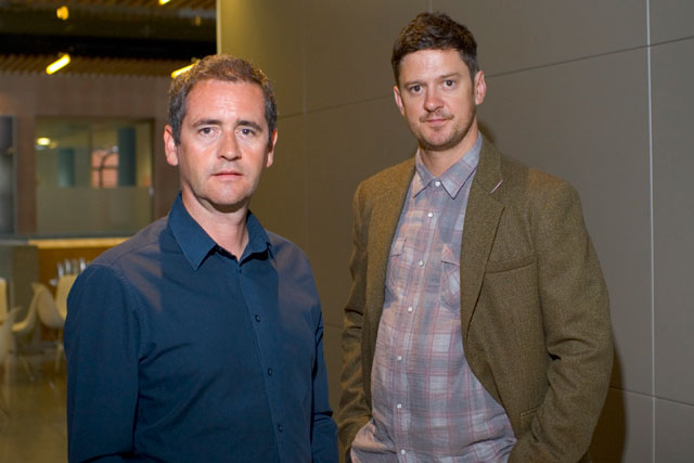 DLKW Lowe's new creative heads Dave Henderson and Richard Denney