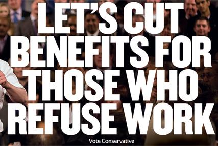 Conservatives: latest work by M&C Saatchi