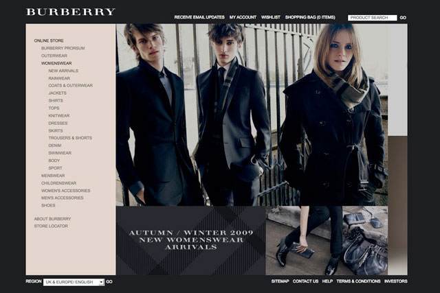 Burberry: talking to London agencies about its digital strategy