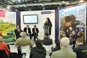 The Haymarket Hub, Event's stand at this year's Confex