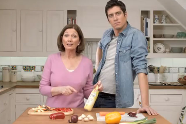 Flora: has used Vernon Kay in ads since April 2011