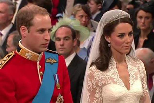 Royal Wedding: helped boost Marks & Spencer profits