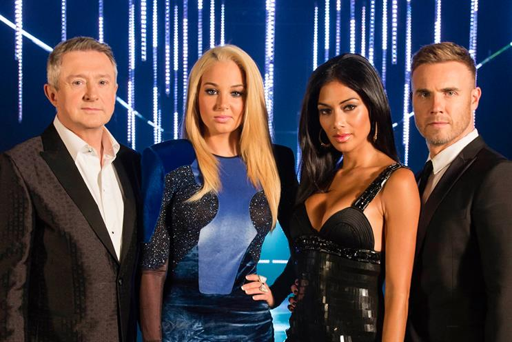 X Factor final: ad revenue down from last year