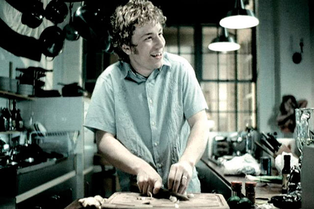 Jamie Oliver: in his first ad for Sainsbury's