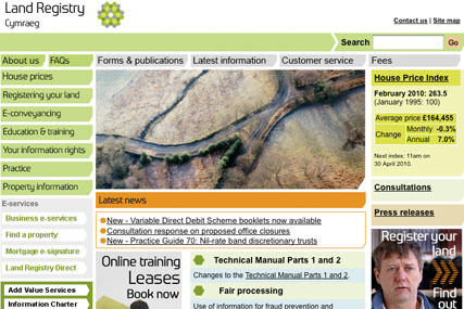 Land Registry: integrated review