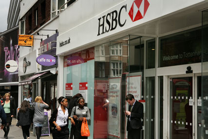 HSBC: recruited Sarah Threadgould as head of UK marketing