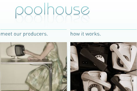 Poolhouse...talent-finding website