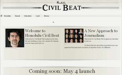 New launch: Honolulu Civil Beat goes live in beta