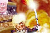 Boris Johnson...stars in Mother cartoon