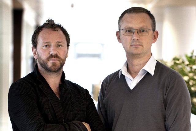 Duan Evans and Nick Turner
