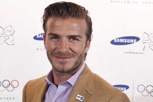 Beckham: London 2012 ambassador