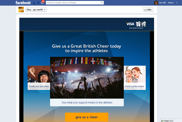 Visa's Go World campaign generated 47 million views