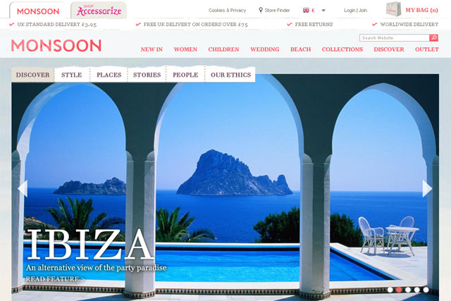 Monsoon Discover: design retailer to offer dedicated editorial content online