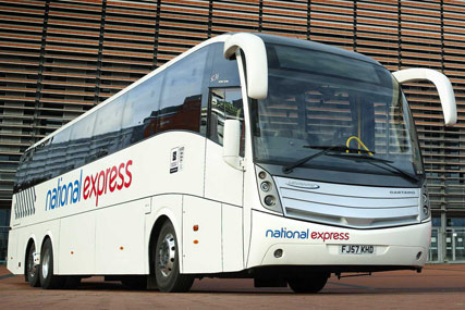National Express is reviewing its advertising