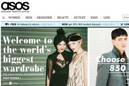 403b46cc98d Asos  fashion site develops platforms for small boutiques