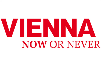 Vienna: now or never campaign logo