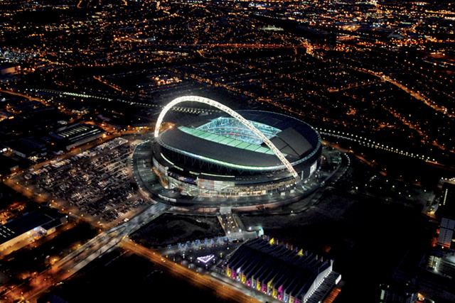 Wembley: hosting this year's Champions League Final