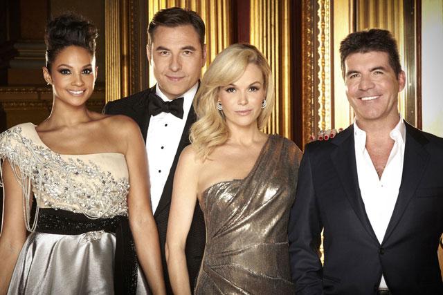 Britain's Got Talent: judges Alesha Dixon, David Wallims, Amanda Holden, Simon Cowell