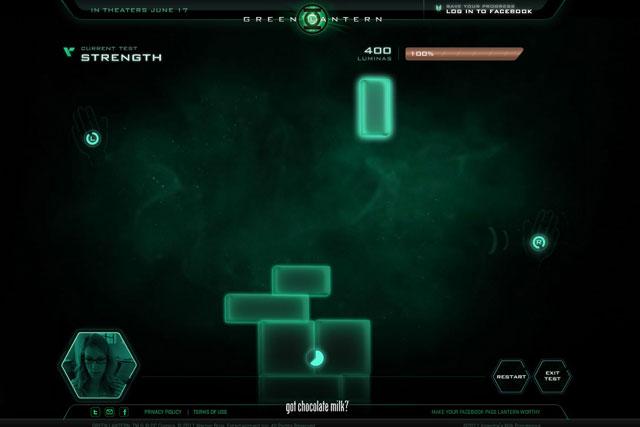 Got Milk?: Green Lantern online game